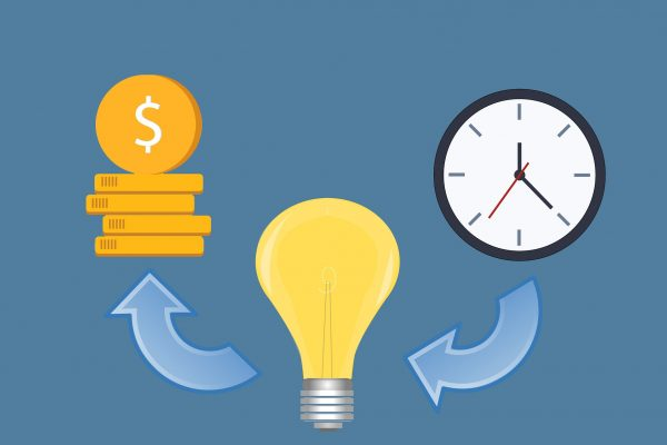 Time Idea Money Lightbulb Creativity Creative