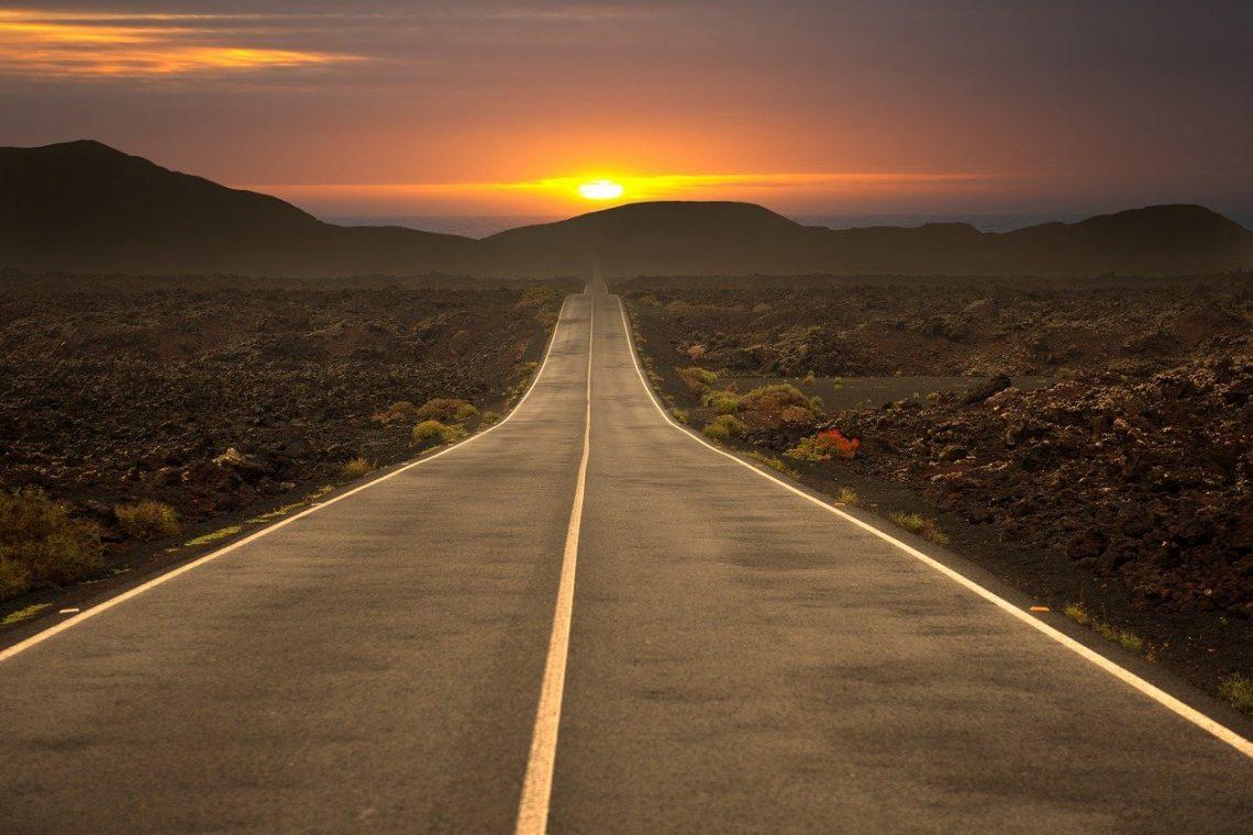 Road Highway Travel Asphalt Sky Landscape