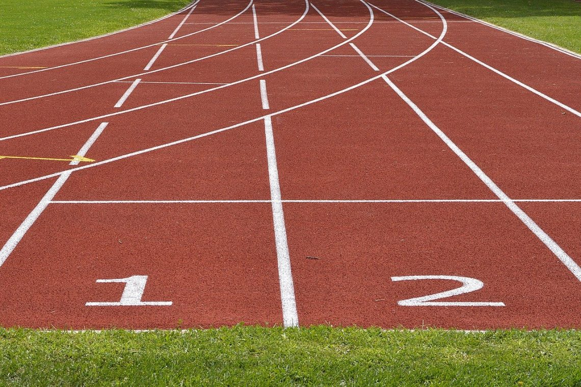 Tartan Track Athletics Track And Field Race Track
